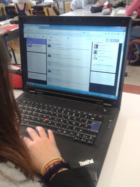 Échanges de problèmes entre écoles via Twitter à Humbécourt #forumatice #EcoleNumerique. http://t.co/LmQHp0QZlE