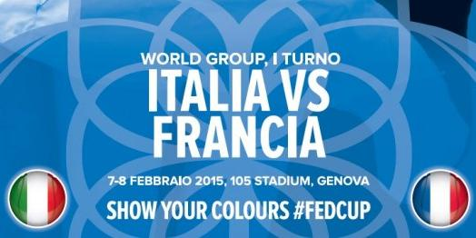Tennis Fed Cup: ITALIA-FRANCIA, diretta tv streaming su RaiSport 2