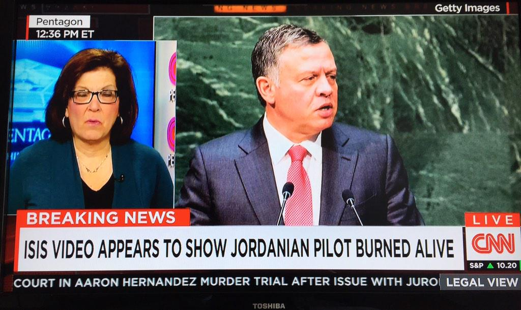 Jordanian pilot 'burned alive' in new Isil video