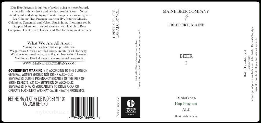 set to be released early March! you can find #beer1 in ME, MA, VT and NY - #hopprogram #fussedover http://t.co/WFBWGBSFW6