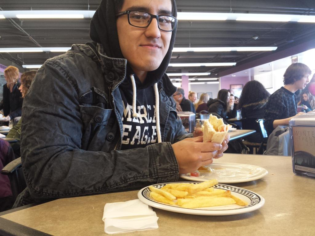 """Campus center dining hall is close to everything"" Max Sarmiento '17 #JRLWeb http://t.co/MBCu0UY1X8"