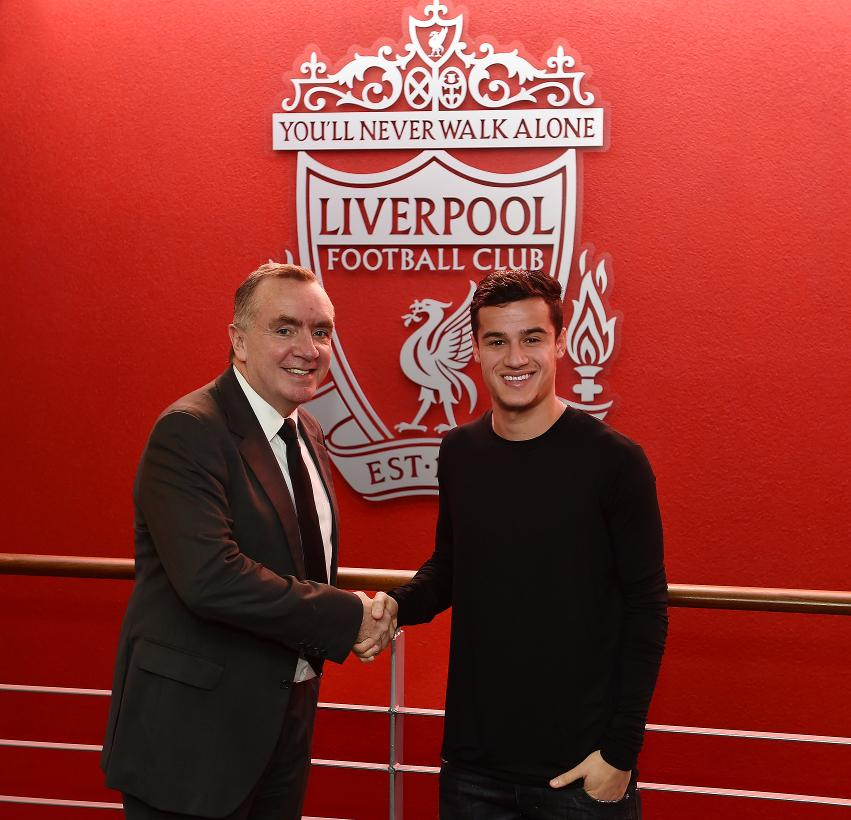 Philippe Coutinho na Sports Director wa Liverpool