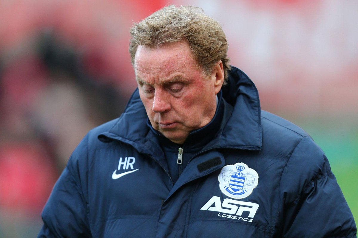 #QPR manager Harry Rednapp resigns to undergo knee surgery. Read latest: http://t.co/o79VMalcwz http://t.co/CtZvrz5V39