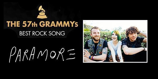 5 DAYS UNTIL THE GRAMMYS! @paramore are nominated for BEST ROCK SONG // Ain't It Fun