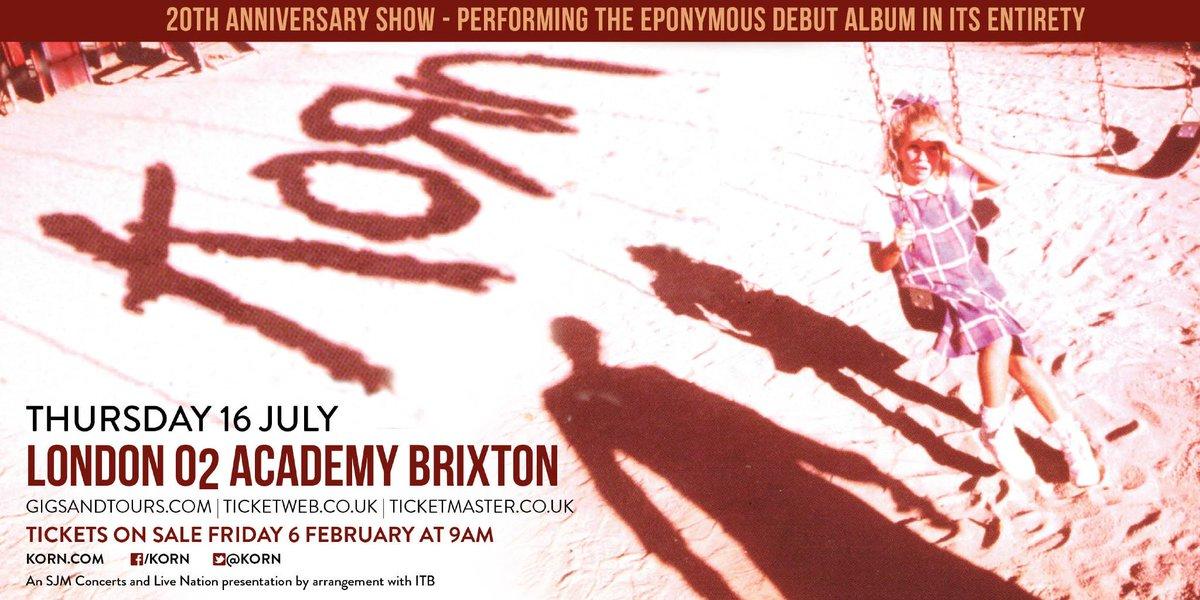 Korn - Live in London