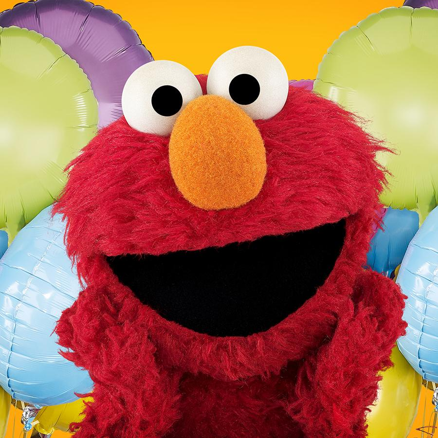 Sesame Street On Twitter Elmo Is 3 1 2 Years Old Today Happy
