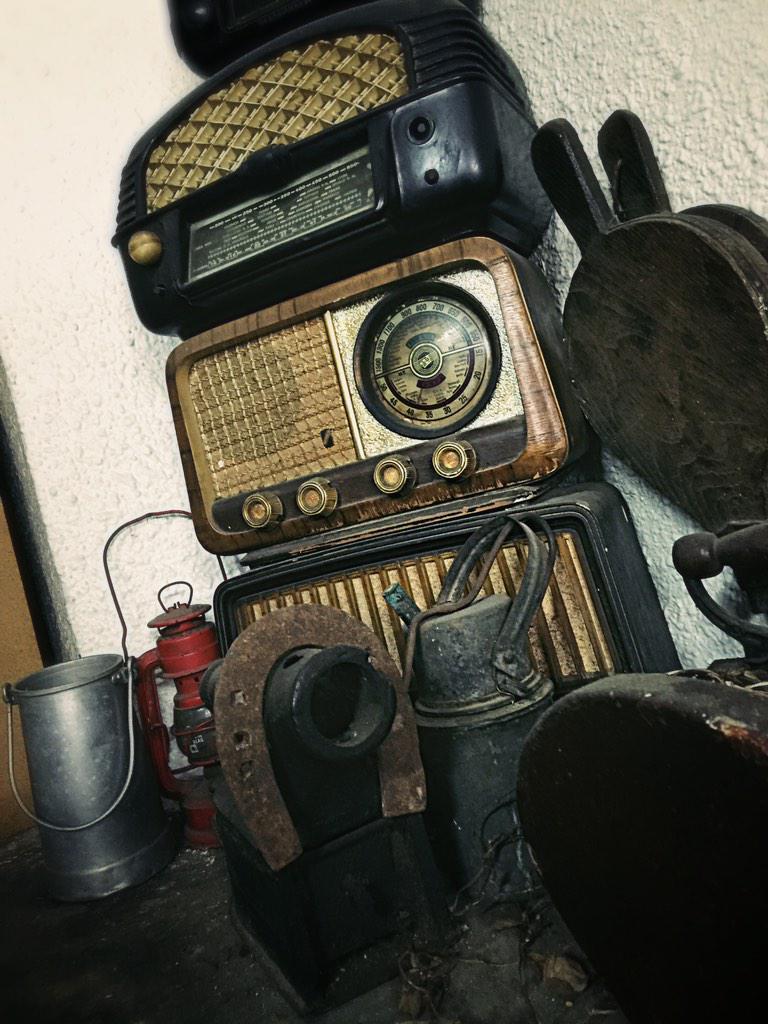 Ràdios i planxes de vapor de la col·lecció Bar Las Vegas