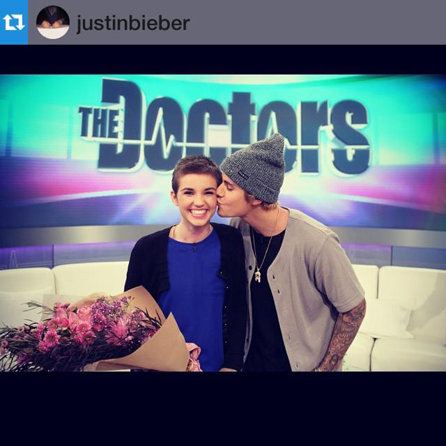 Tune in THIS THURSDAY for a surprise guest! (SPOILER: @JustinBieber) http://t.co/6eOzITDIQU #JustinBieber #TheDoctors http://t.co/kZUcw6Dfv5