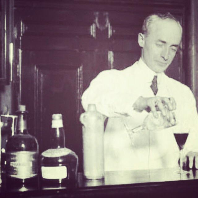 The way to drink a cocktail is quickly. While it's still laughing at you. Wines, of course, merely smile. H. Craddock http://t.co/jGmoyOLwKe