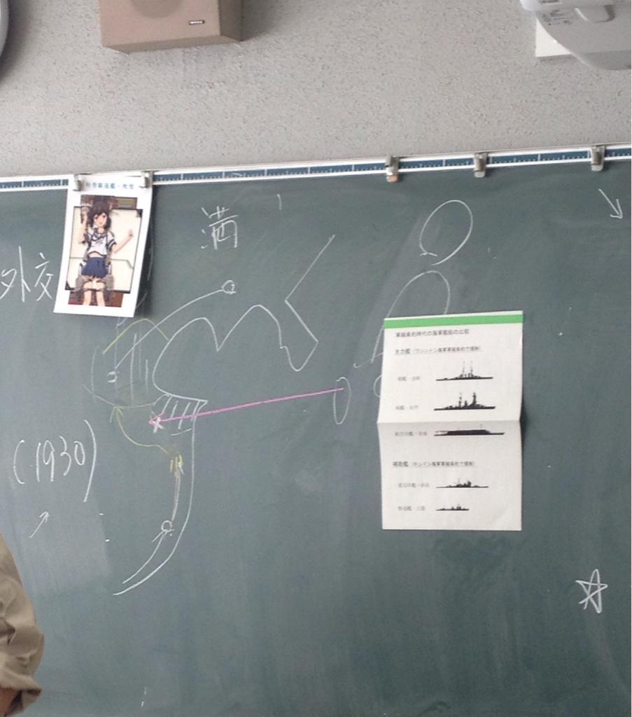 日本史で真面目にロンドン海軍軍縮条約の話してると思ったらなんか吹雪が出てきたし果てには先生が「如月沈みましたね」って言って授業終わった。 pic.twitter.com/b14G7gU24a