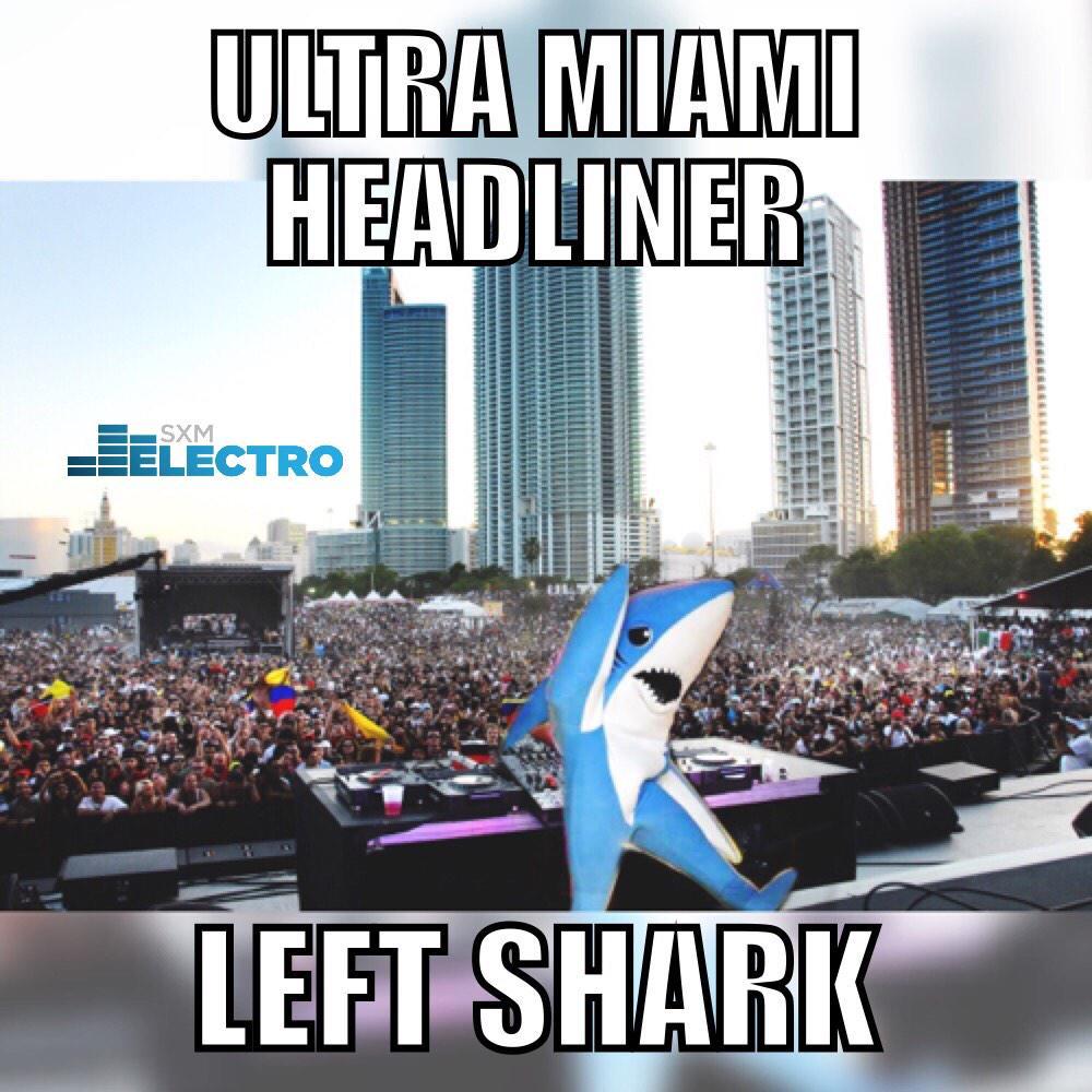 Ultra Headliner? #LeftShark