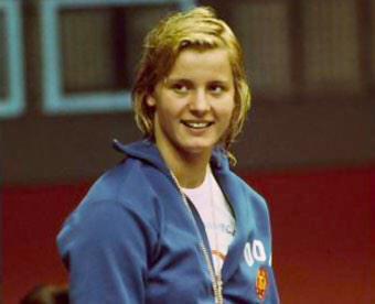 Kornelia Ender, campionessa mondiale di nuoto
