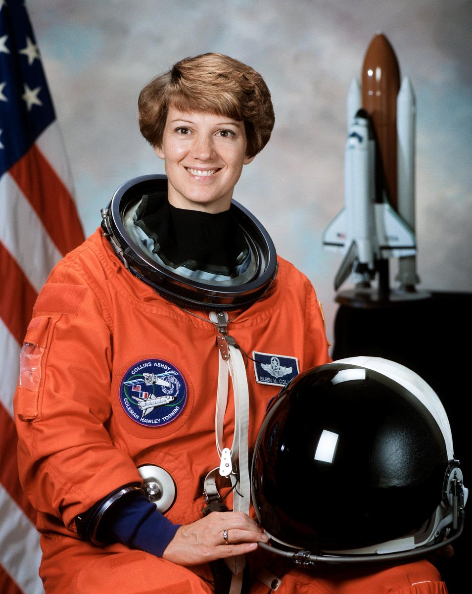 20 years ago today, Astronaut Eileen Collins becomes the first woman to pilot a Space Shuttle mission STS-63! http://t.co/bziUDeAsdb