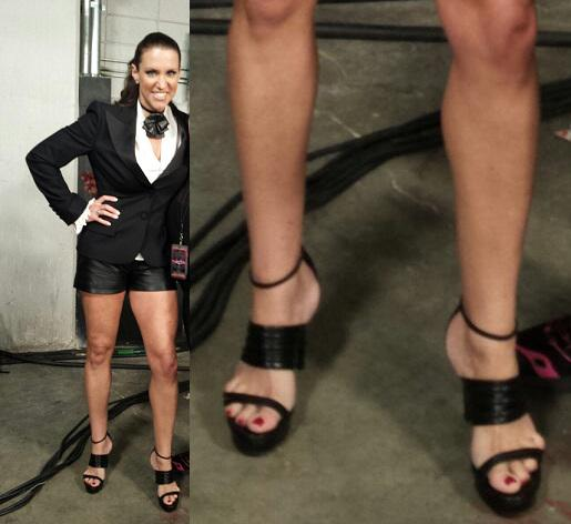 wwe stephanie mcmahon feet