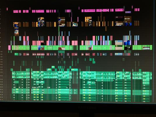 Using @AdobePremiere in shared storage environment. So far, so good! #TimelineTuesday #edit #post http://t.co/P1Z9nlK1fm