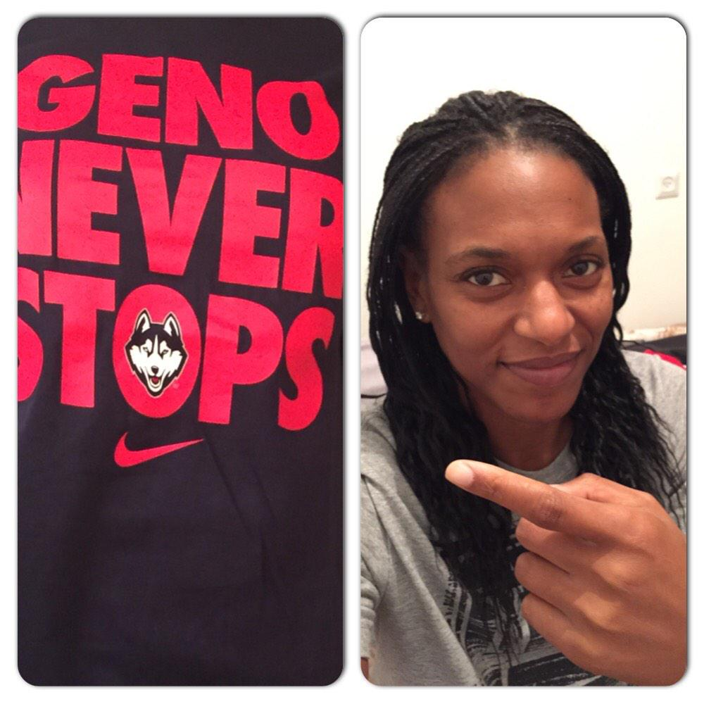 Congrats!!! Well done!!!! #GenoNeverStops.