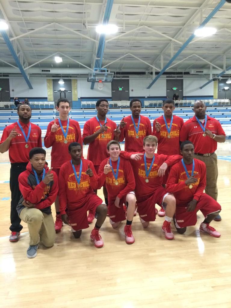 2014-15 MHS Red Devils Frosh Boys Basketball Team ~ Pinckneyville Trny Champions!<br>http://pic.twitter.com/5yxDEZMuEg