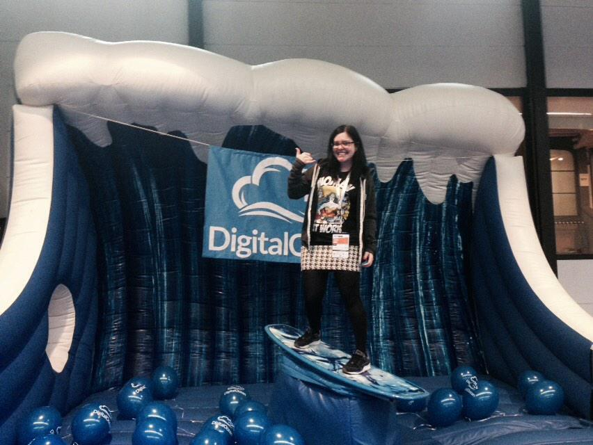 Servers Up Bro #phpbnl15 Love the @digitalocean stand #notshinyfox http://t.co/wOyHQ7jPz3