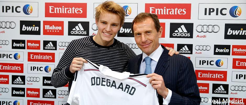El Real madrid ficha a Martin Odegaard.