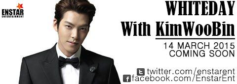 WHITE DAY with Kim Woo Bin in Indonesia. March, 14th 2015 - Hall Kasablanka, Jakarta