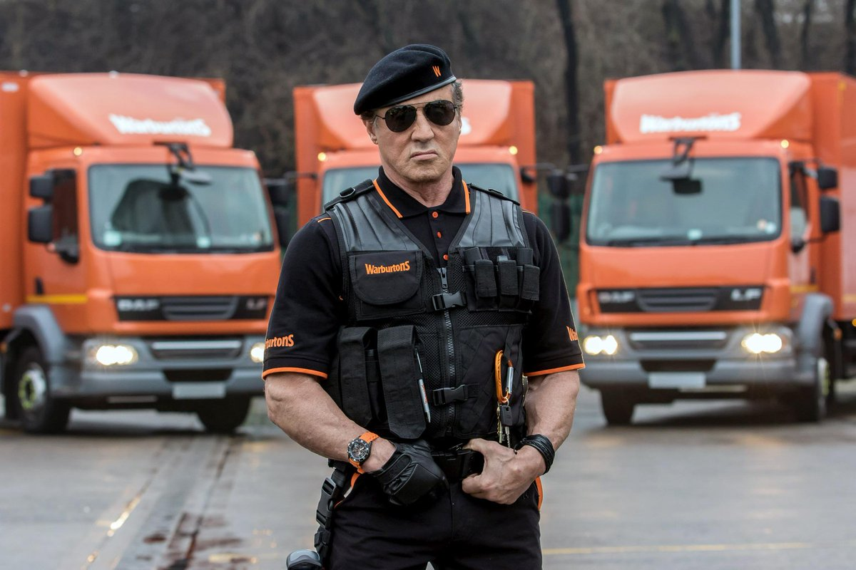 Admit it, you didn't see this coming - Sylvester Stallone is new face of @Warburtons http://t.co/Sm2URSBpyH http://t.co/kdisAObyLE