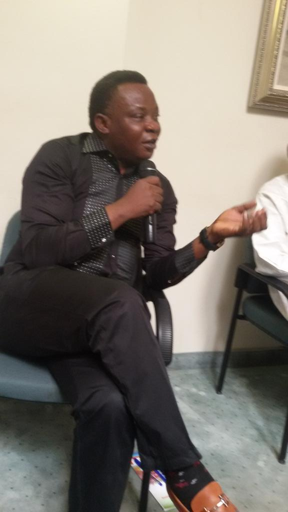 #kickagainsthatespeech Ezenwa making his remarks http://t.co/z3zvWsQZCa
