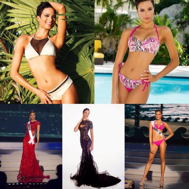 No word to describe this beauty PERFECTION! Amazingly gorgeous Miss JAMAICA is at no. 2 #MissUniverse #prediction http://t.co/KMs8g7wKKX