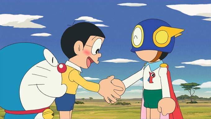 Doraemon dan Perman adalah Karya Mangaka Fujiko F. Fujio