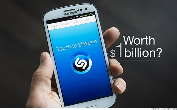 L'app Shazam adesso vale un miliardo di dollari
