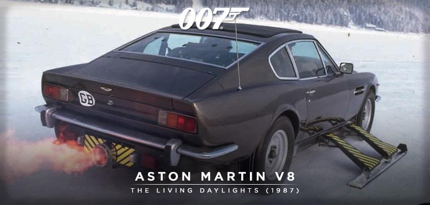 """James Bond on Twitter: """"Bond's Aston Martin V8 from THE LIVING ..."""