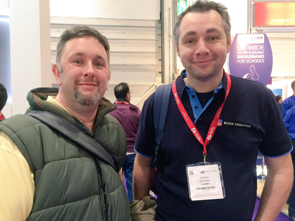 4pm for @ICTEvangelist's talk at the Google stand. See you there! #Bett2015 #BETT15 #bettshow http://t.co/BKv6ZojNAI