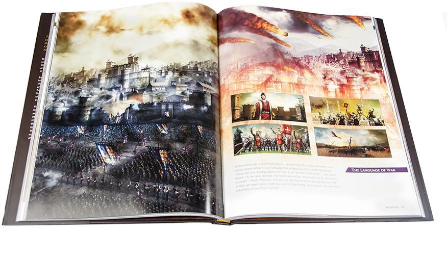 The Art Of Total War Book