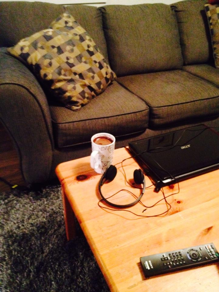 Laptop, headphones, coffee, couch. Ready for some great PD! #realize15 http://t.co/y6SmLXLOcs