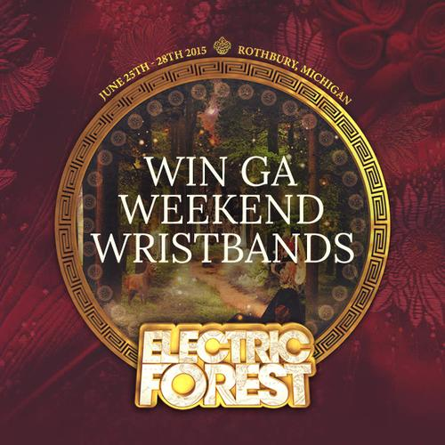 We're giving away a pair of Weekend Wristbands to @Electric_Forest Festival!  Enter to win: http://t.co/wdi6LaJwCi http://t.co/6lpSpKZfYU