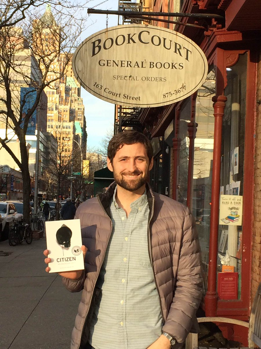 #NBAward Winner @Philklay is making #TimeToRead Claudia Rankine's Citizen. What will you read for the Readathon? http://t.co/39KzPelGJ2