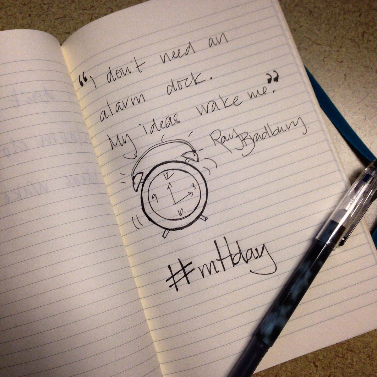 Celebrating #mHday with @moleskine! http://t.co/3EjsydR4oK