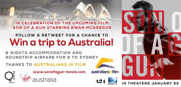 Follow & RT 4 a chance to win a trip for 2 to Sydney from @australiansfilm #Sweepstakes Rules: http://t.co/pI0inD4UKy http://t.co/qCZITjTKuf