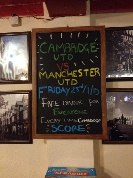 An optimistic Cambridge pub #cufc http://t.co/Cllp0q5CUe