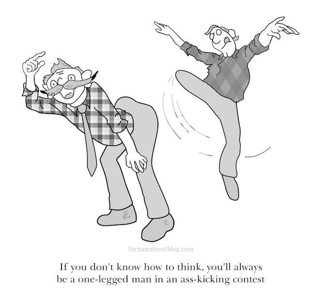 Ass kickin contest cartoon