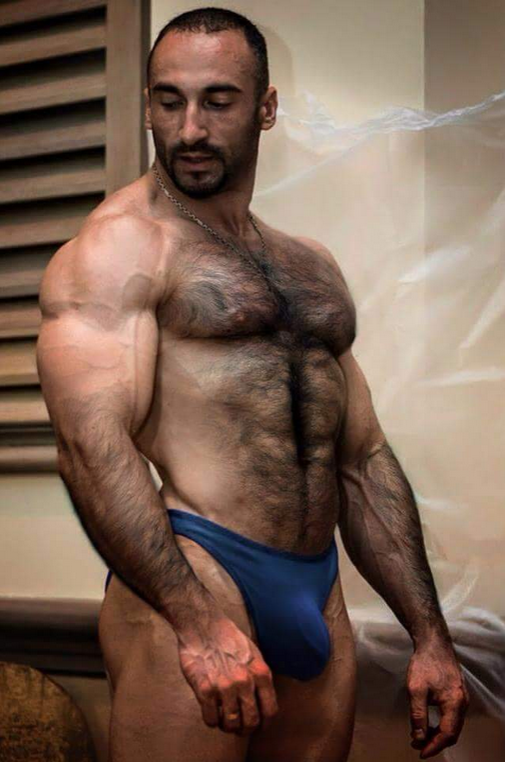 Hairy Muscle Men Galleries 38