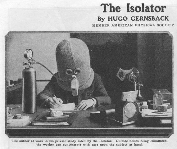 Need to get away without ever leaving your desk?  Try The Isolator! http://t.co/fd0kX8Za3K