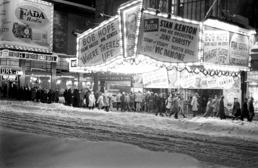 The Great Blizzard of 1947 - Photo: Michael Rougier