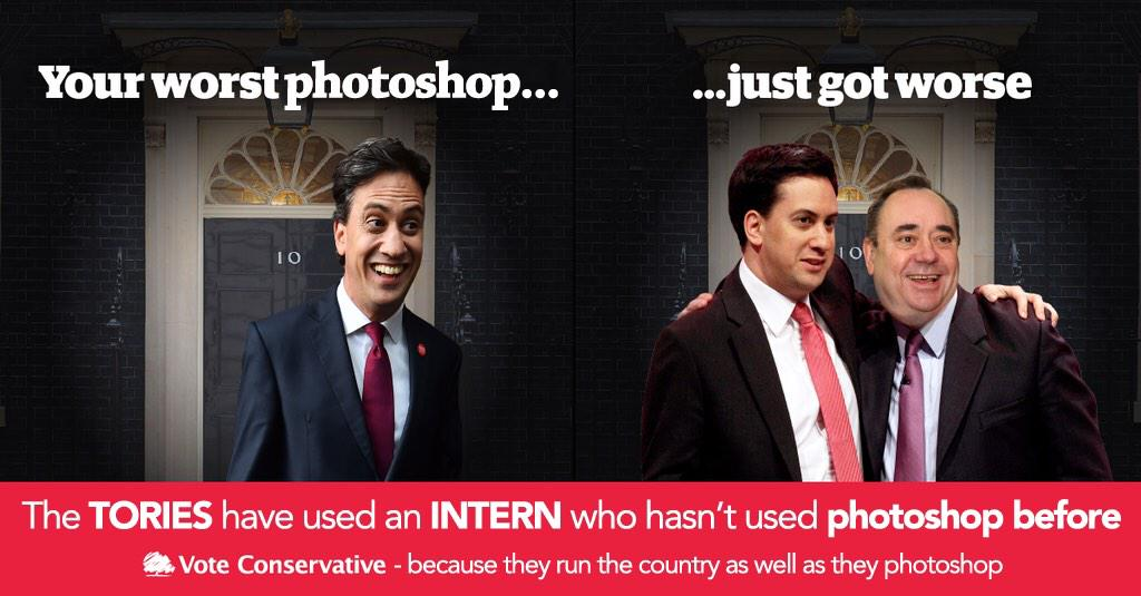 That latest Tory poster really isn't good. http://t.co/OTjgCNEo4W