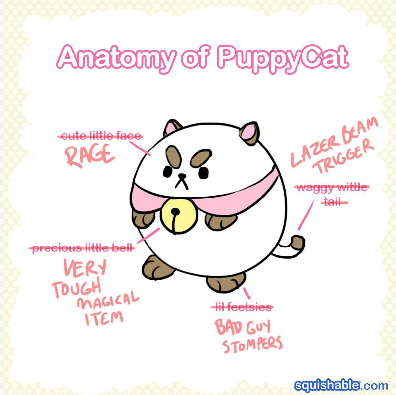 Puppycat anatomy! From @cartoonhangover's Bee&Puppycat! http://t.co/abNagDM7CX http://t.co/UerqS1lEOP