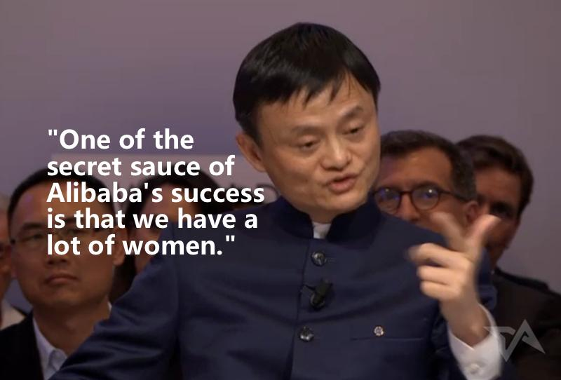 "Google, FB, MS: ""We try to hire women but it's REALLY HARD!""  Alibaba: ""Half our staff is women.""  https://t.co/waLun0Lz3s"