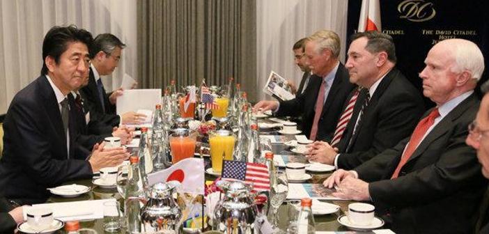 .@Ryohhei039724Rs 安倍首相は26社の軍事関連企業の幹部を引き連れて中東へ乗り込み イスラエルで商談。  こんな実情を隠して「人道支援」という報道は日本だけ https://t.co/adVA0WUsYC … http://t.co/oddIOAUsfw