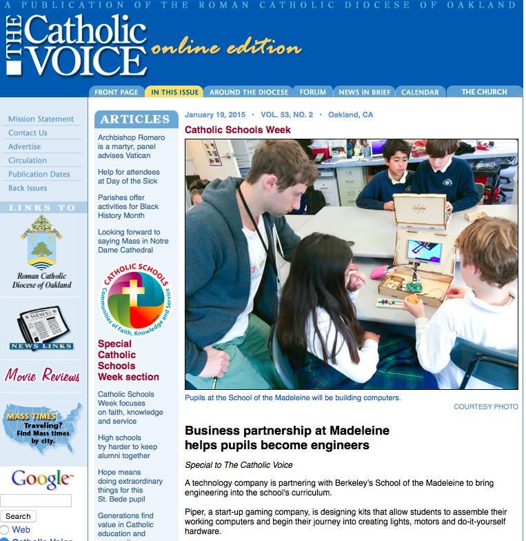 @LMSweeting @the_Madeleine had article in Voice as well in STEM  http://t.co/It8n6ypYk9 #CatholicEdChat http://t.co/3ELYkYAugi
