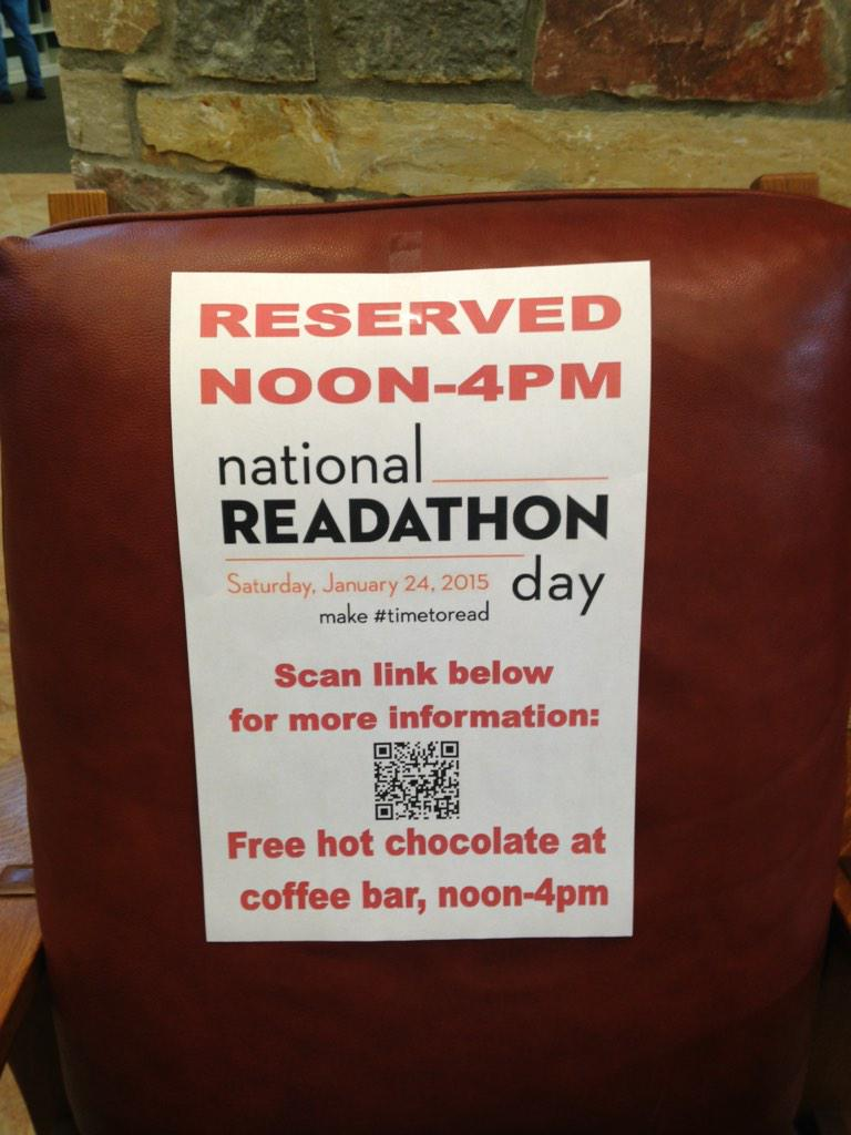 It's #timetoread! We've got a spot for you at Main: http://t.co/0YwkLrxpLP