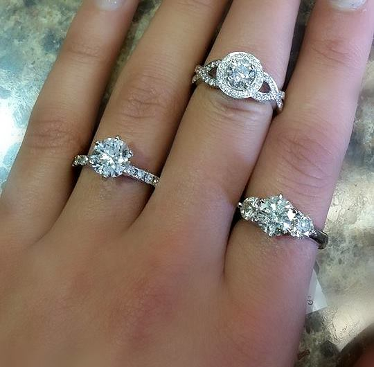 Halo Engagement Rings Hannoush