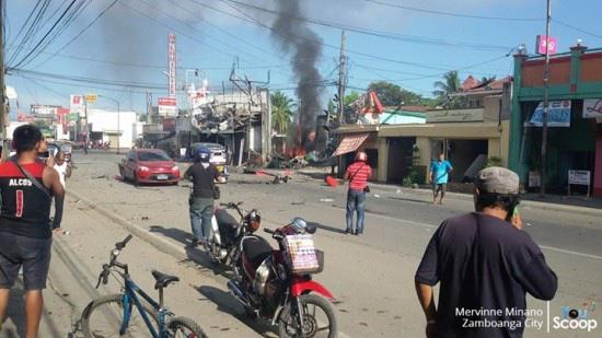 2 killed, 54 wounded by Muslim terrorist attack in Philippines